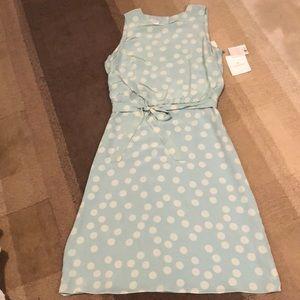 NWT VTG Liz Claiborne 100% Silk Dress sz 10